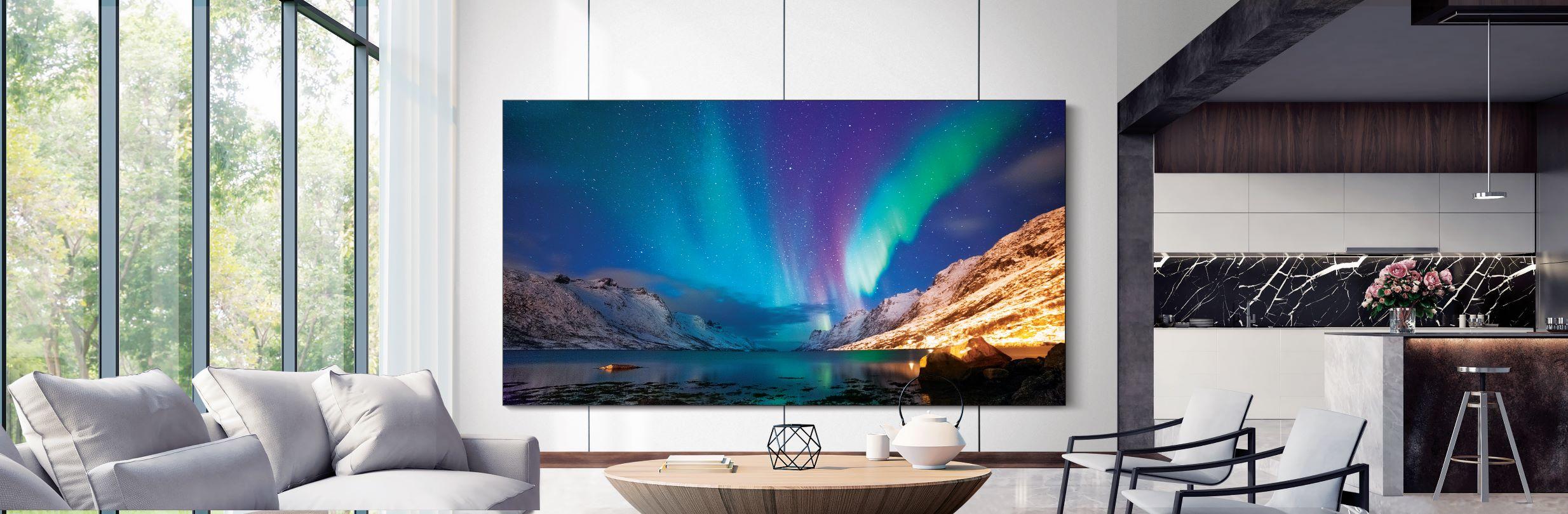 Samsung foi a marca que mais TVs vendeu no terceiro trimestre de 2020