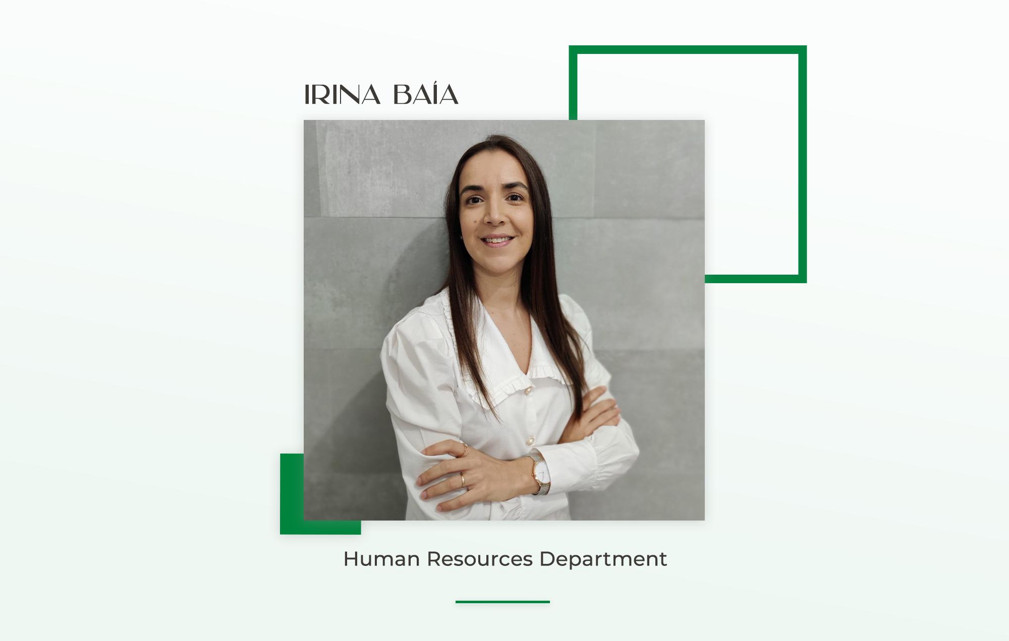 Irina Baía Interview